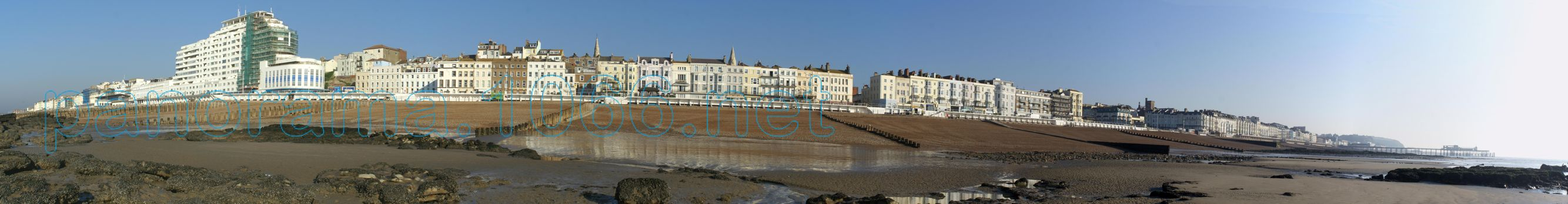 St Leonards Seafront Panorama 2
