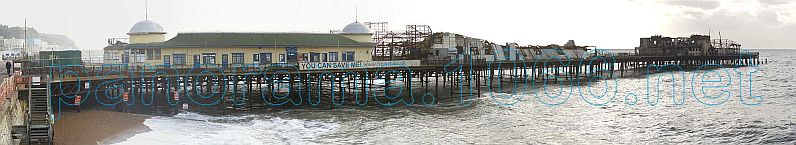 Hastings Pier Panorama 2