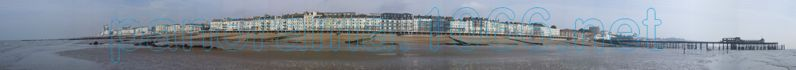 Panorama of Hastings