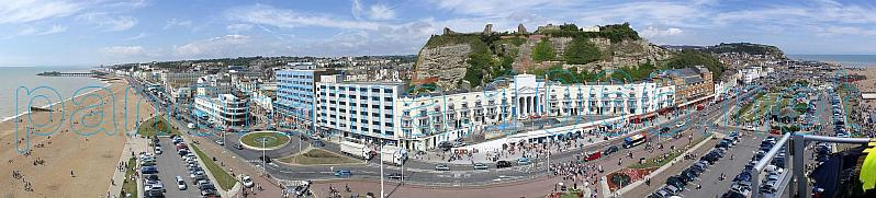 Hastings Seafront Panorama